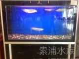 上虞专业定做鱼缸 酒店海鲜缸 饭店海鲜池