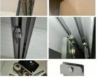 , 杨浦区军工路专业维修淋浴房玻璃移门滑轮损坏断裂更换