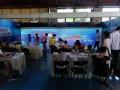 神笔马良绘画鱼双投影融合7米屏幕