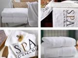 君康传奇新款酒店宾馆客房高档纯棉毛巾 酒店用品白色断档毛巾