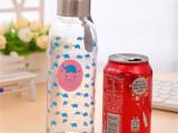 首创个性开水杯 10元店货源百货 创意制品 地摊玻璃杯 环保耐高