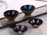 厂家批发 建窑建盏茶杯 七彩窑变曜变天目品茗杯茶盏陶瓷茶杯