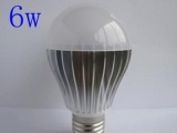 鳍片LED球泡外壳 便宜球泡外壳 6W球