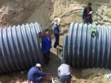 供应HDPE钢带增强管批发公司