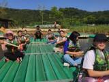 广州白云区可以亲子游踏青划竹筏的农家乐