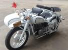 长江款750边三轮摩托车 白色蓝条纹1元