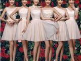 2015夏新款伴娘团礼服短款结婚伴娘服姐妹裙演出小礼服伴娘裙批发