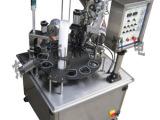 全自动绿豆沙灌装机、防滴漏防拉丝杯盒灌装机、单杯转盘灌装机