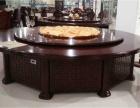合肥出售高档电动餐桌,手动圆桌,单位大圆桌,实木电动餐桌哦