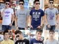 河南新乡新款韩版纯棉圆领男装T恤低至5元厂家直销