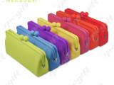 【线上批发】 硅胶眼镜包 可爱糖果色时尚手包 果冻包包 小收纳包