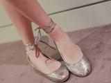 爆款批发时尚女鞋 2014夏季欧洲站真皮女鞋单鞋新款 批发免费代