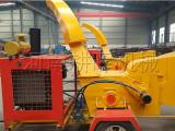 韶关高质量移动式木材切片机-大型移动树枝削片粉碎机供应商