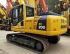 德州小松200-8N1二手挖掘机出售,大件质保