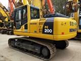淄博二手挖掘机小松200-8N1出售,大件质保