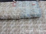 厂家供应 粗纺呢绒 银丝法兰呢 斜纹带亮丝法兰呢
