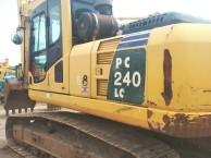 小松240-8,二手挖掘机,纯土方车,精品车况