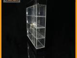 批发供应 带锁亚克力香烟展示架 方型有机玻璃展示架系列