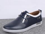 秋季新款日常休闲男鞋真皮正品头层牛皮软底透气男单鞋子一双起批