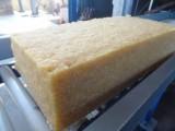 浅黄色天然橡胶,透明度较高,用于各种橡胶制品