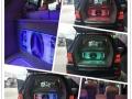 奔驰ML350汽车音响升级改装德国德高三分频A柱