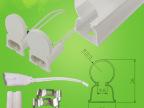 专业LED日光灯配件,外壳,套件,灯头,T5一体化双色管13款