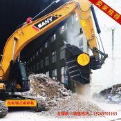 陕西建筑垃圾破碎机的价格 mb120破碎铲斗 挖机破碎斗
