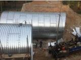 中建指定钢波纹涵管厂家 热镀锌波纹管 金属波纹涵管