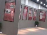 上海畫展掛畫背板租賃 畫展屏風展架出租 作品展示架制作