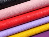 思林 新款多彩荔枝纹皮革大量现货 可订做 使用与各种鞋材箱包
