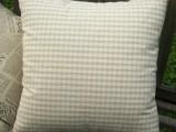 ZAKKA杂货 棉麻材质色织格子靠垫套 抱枕套(两个尺寸可选)