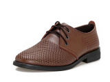 厂家直销 批发 夏季潮流休闲鞋 英伦男士皮鞋 真皮真皮男鞋