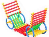 批发幼儿园智力开发塑料积木拼插拼装玩具益智聪明棒积木0.35kg