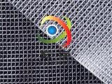 工厂现货PVC透明布夹网布,防尘帘防尘罩,PVC网格布