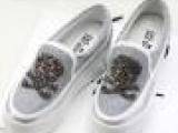 女鞋2013秋款时尚女鞋批发厂家女鞋浅口松糕跟女鞋 帆布鞋 30