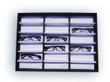 批发 18格眼镜展示盒 折叠眼镜展示道具 眼镜盒眼镜收纳盒 方便