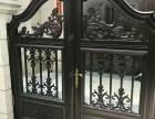 温州别墅护栏铝合金高端围墙栏杆铝合金铝艺大门