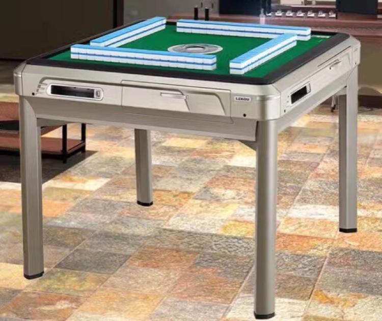 全自动二手麻将机 四口二手麻将桌 全深圳免费送货上门保修