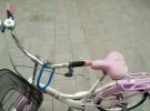 粉色的自行车400元
