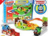 英文版外销包装 托马斯轨道火车采石场1号套装 益智玩具
