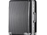 批发外贸韩国品牌时尚旅行箱24寸铝框拉杆箱万向轮托运箱行李箱