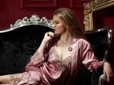 品牌女士睡衣专柜正品新款魅力女士仿真丝性
