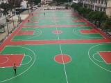 专业承接篮球场丙烯酸施工篮球架安装球场划线篮球板维修