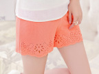 2014新款夏白色外穿三分防走光显瘦薄款打底裤女安全裤短裤保险裤