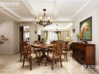 重庆春森彼岸别墅装修设计,美式风格
