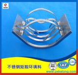 DN76mm不锈钢矩鞍环填料 金属散堆填料生产厂家