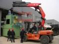 上海普陀区叉车出租楼层机械移位吊装华师大汽车吊出租