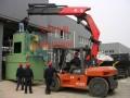 上海徐汇区叉车出租设备装卸 凌云路25吨汽车吊出租钢结构吊装