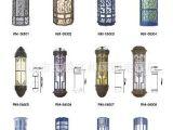 古镇厂家供应户外仿云石方形壁灯 LED壁灯 非标工程 来图定制
