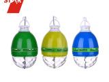 厂家直销LED球泡灯七彩旋转塑料魔球灯婚